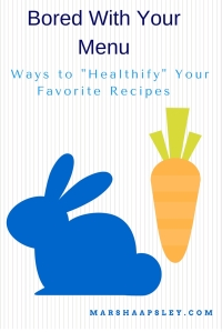 healthify your favorite recipes